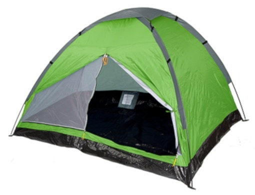 Summit Pinnacle Dome 4-persoons tent 240 x 210 x 130 cm groen