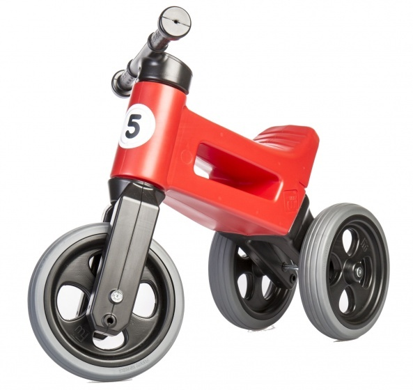 loop fietsen/Funny Wheels Rider Sport Cool loopfiets Junior Rood
