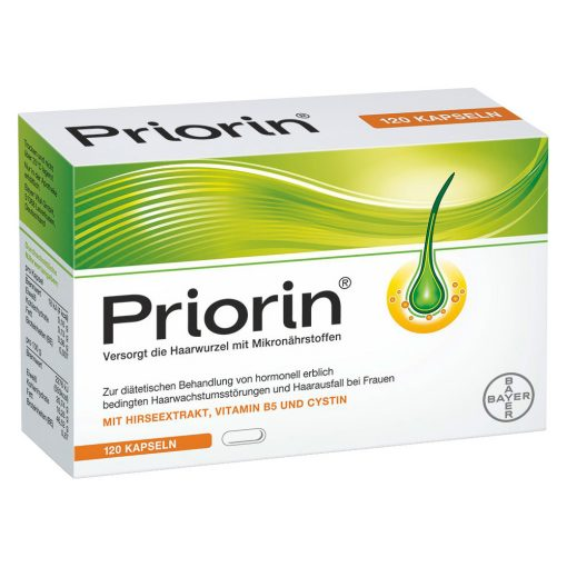 Bayer Priorin – 120 Capsules