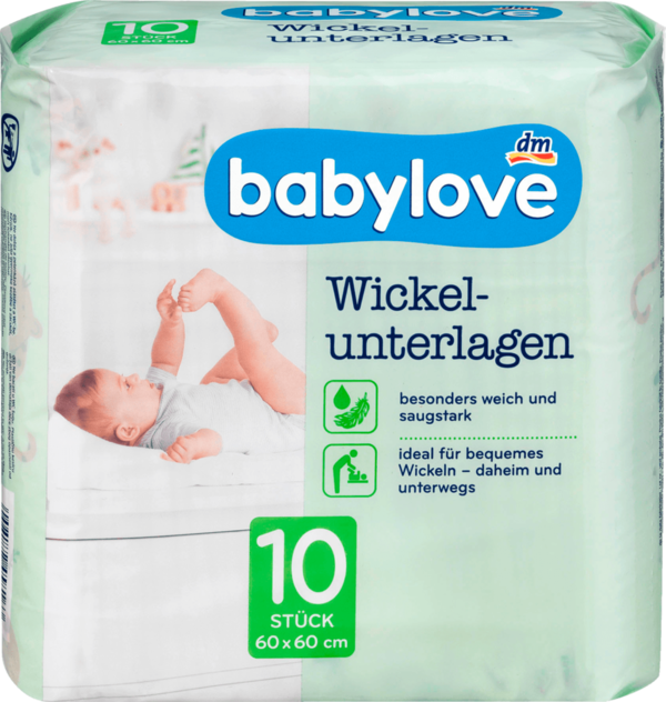 Babylove Changing Mats Pack of 10